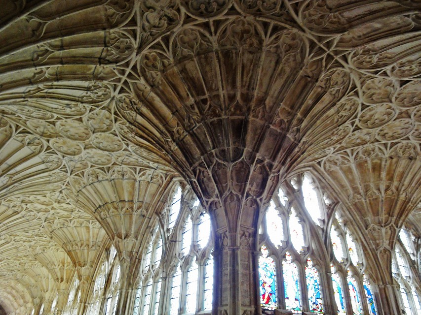 Gloucester Cathedral: Fan Vaulting - Gloucester Cathedral