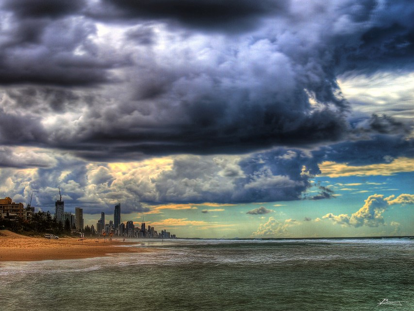 impending storms - Gold Coast