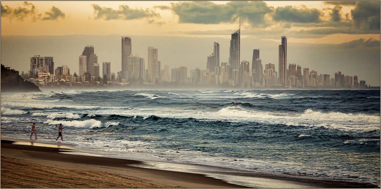 Surfer's Paradise from Burleigh Heads - Gold Coast