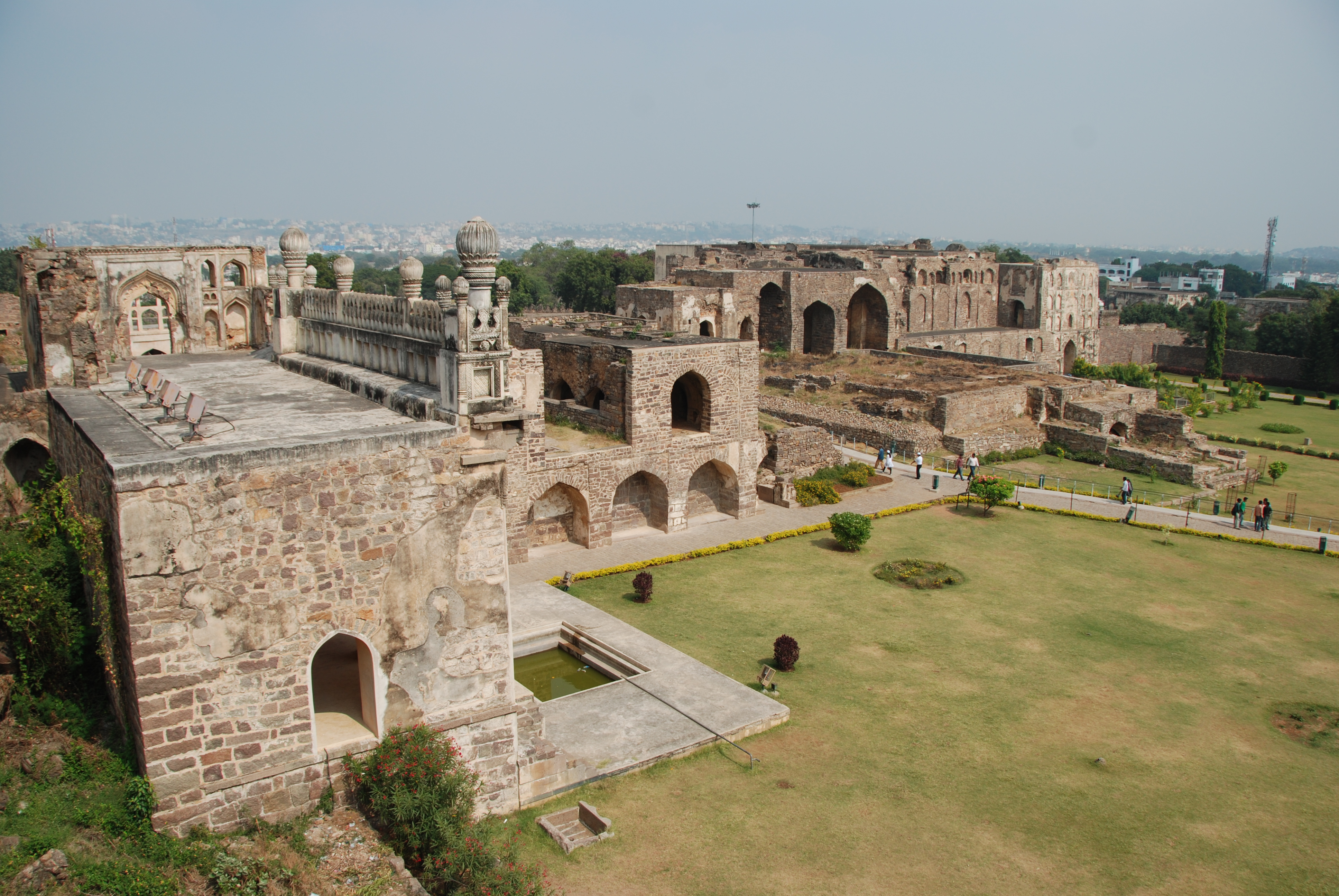 Golkonda Fortress In Hyderabad Thousand Wonders