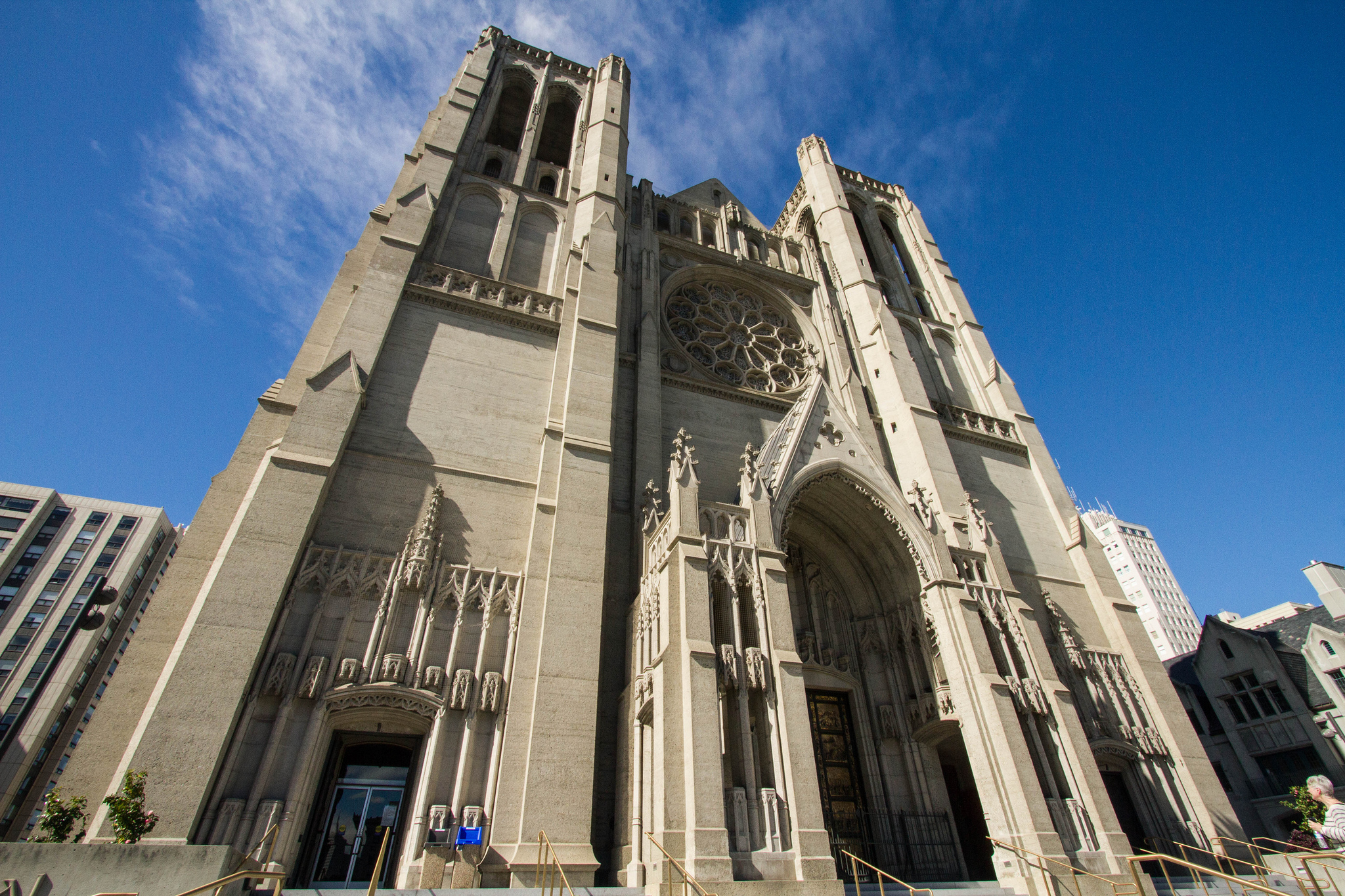 grace cathedral essay This essay example has been classical and gothic architecture the cultures of the ancient greeks and intelligent structure that stands with dignity and grace.