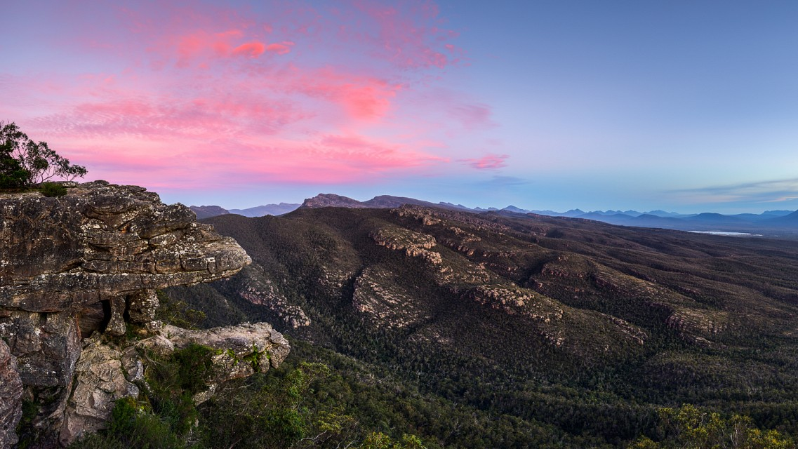 Sunset on the Balcony - Grampians National Park