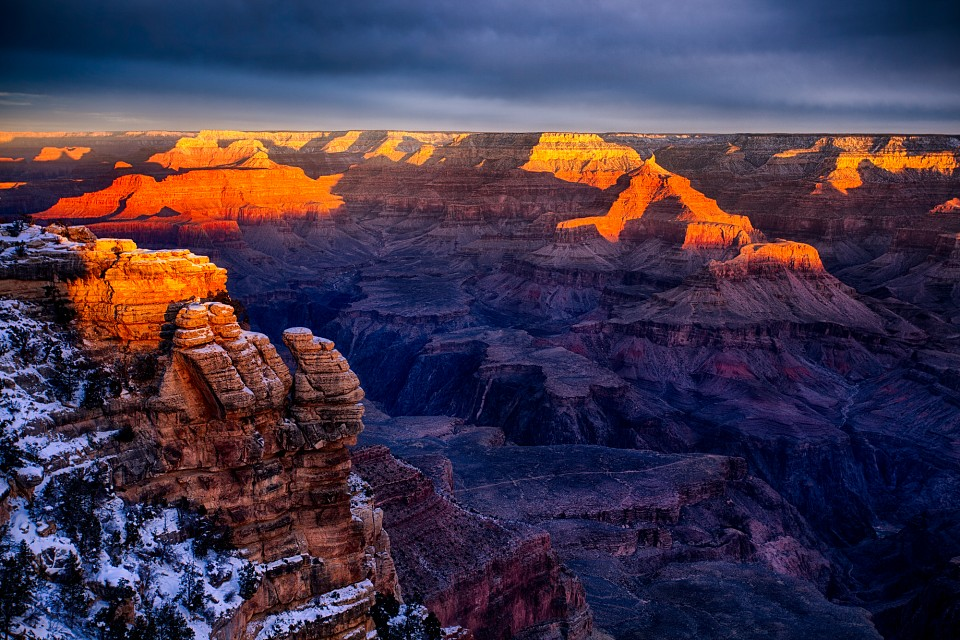 Grand Canyon Sunrise by Michael Matti - Grand Canyon National Park