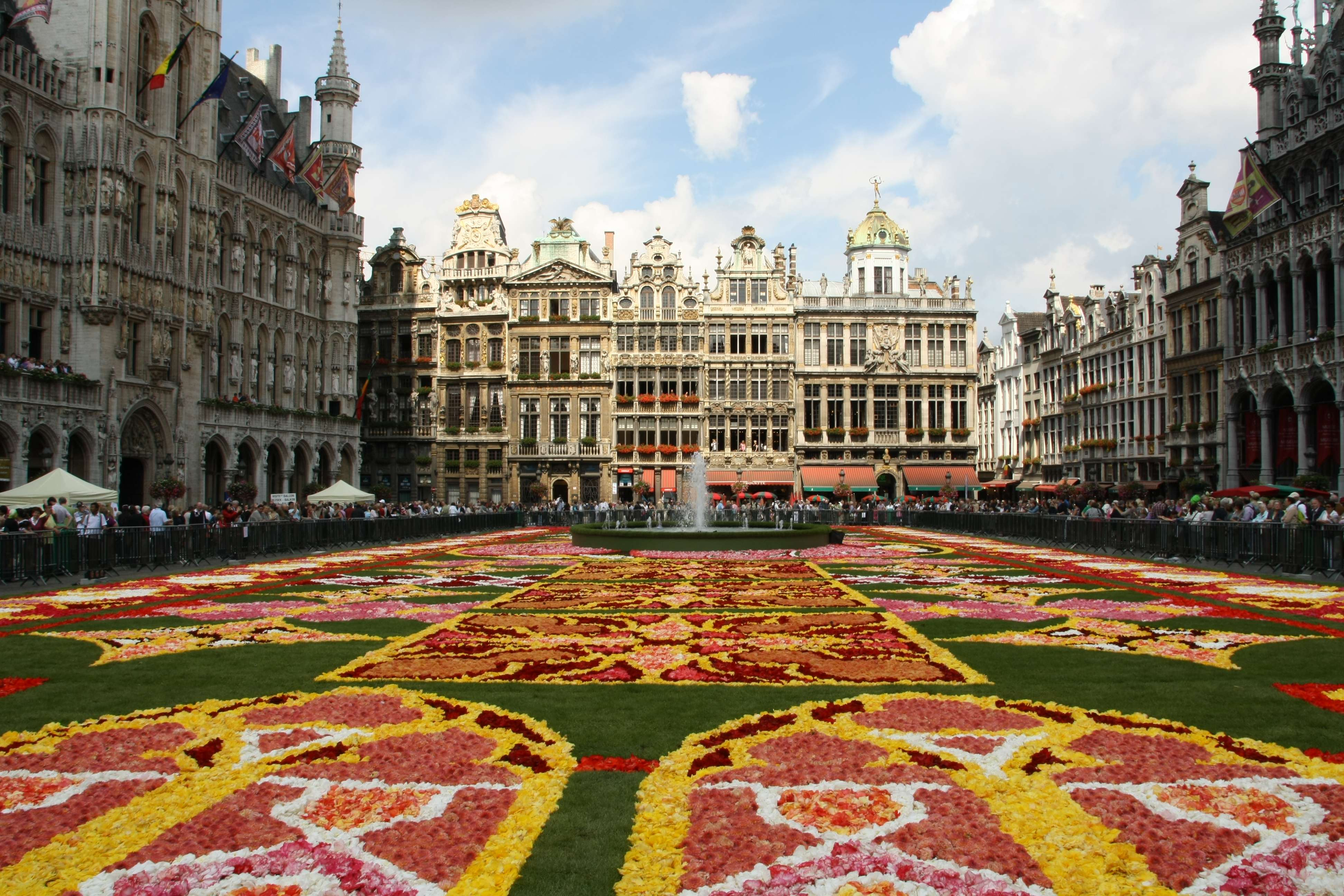 Grand Place Plaza In Brussels Thousand Wonders