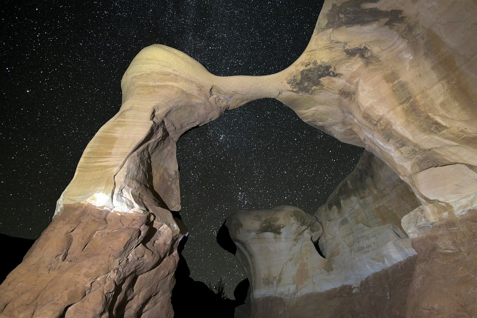 Metate by Starlight - Grand Staircase-Escalante National Monument