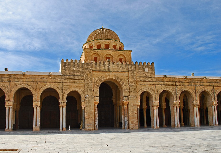 The Dome of the Portico - The Great Mosque of Kairouan - Great Mosque of Kairouan