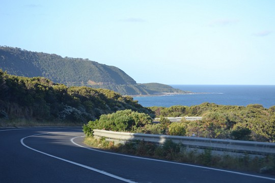 Driving East on the
