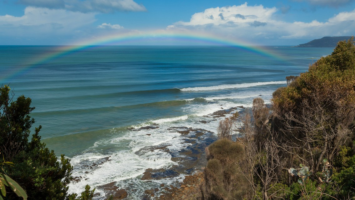 Great Ocean Road Rainbow - Great Ocean Road