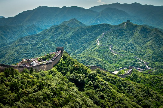 The Badaling section of the Great Wall. - Great Wall of China