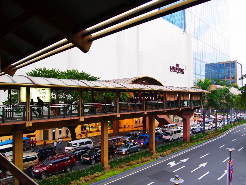 Pedestrian Footbridge from Landmark to