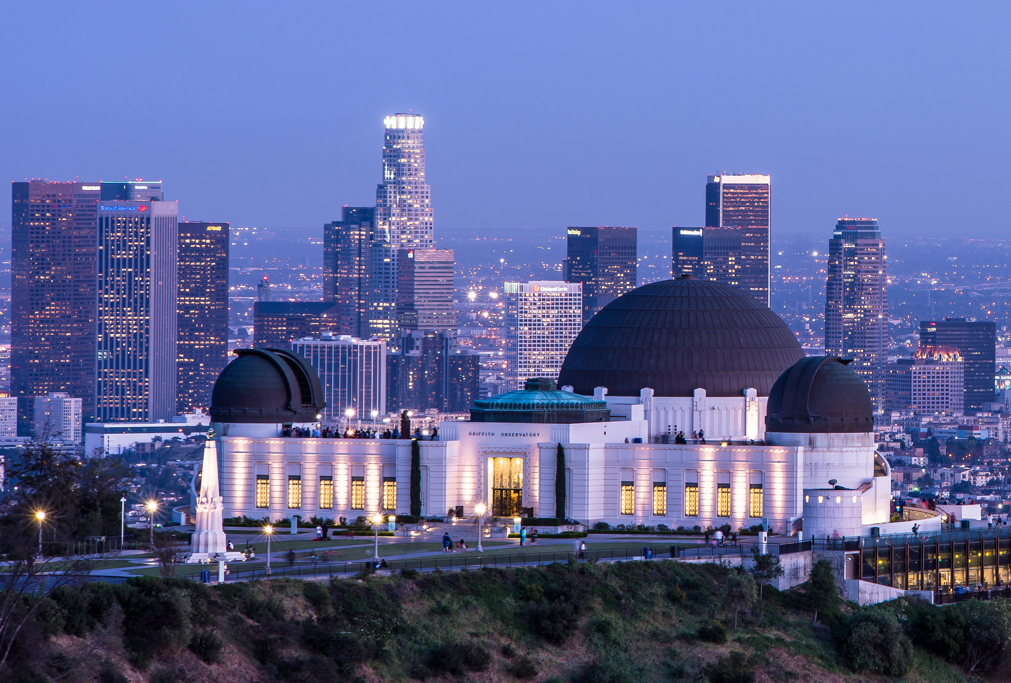 Griffith observatory museum in los angeles thousand for Best parking near lax