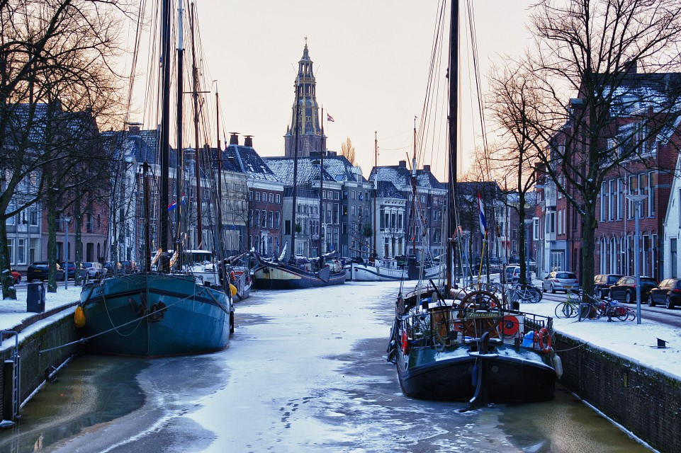 An early winter morning in Groningen (Explore) - Groningen