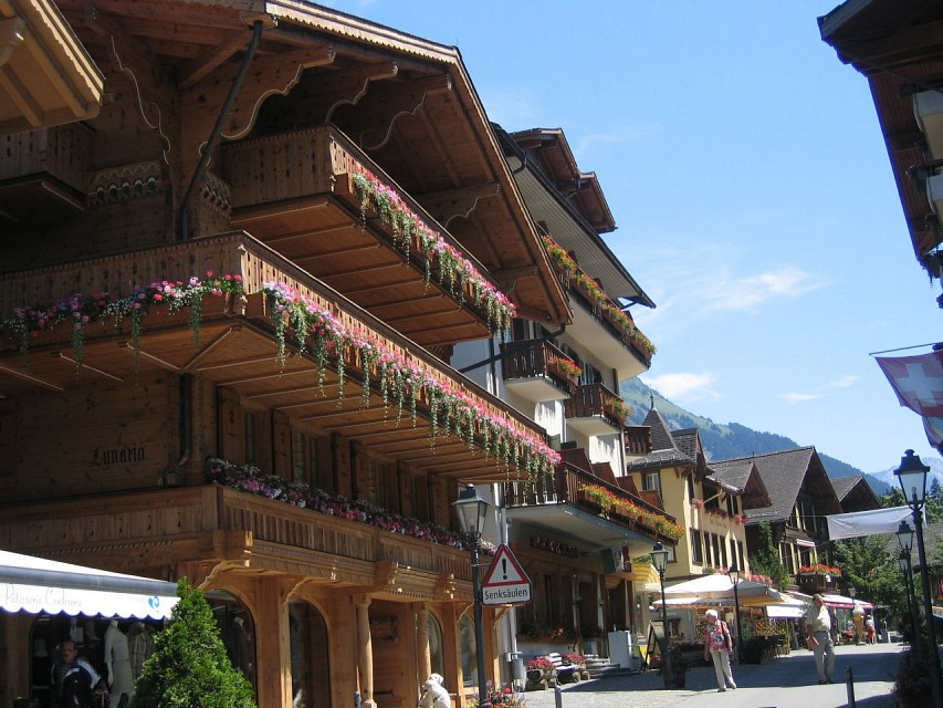 Gstaad (BE) - Switzerland - Gstaad