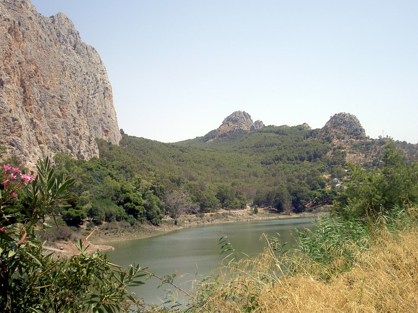 The Guadalhorce near El Chorro - Guadalhorce