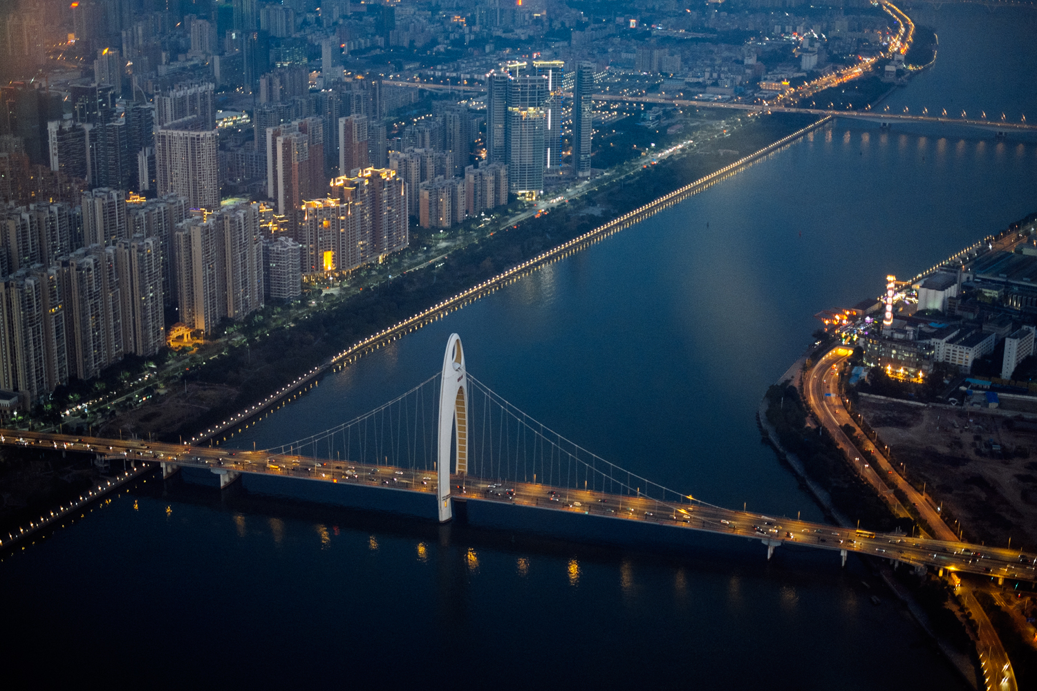 Guangzhou City In Guangdong Sightseeing And Landmarks