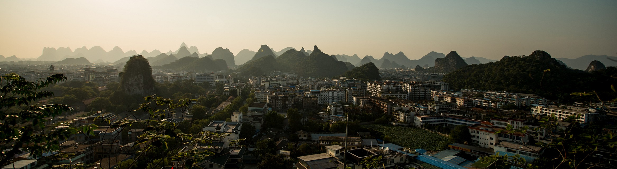 Guilin Skyline Panorama - Guilin