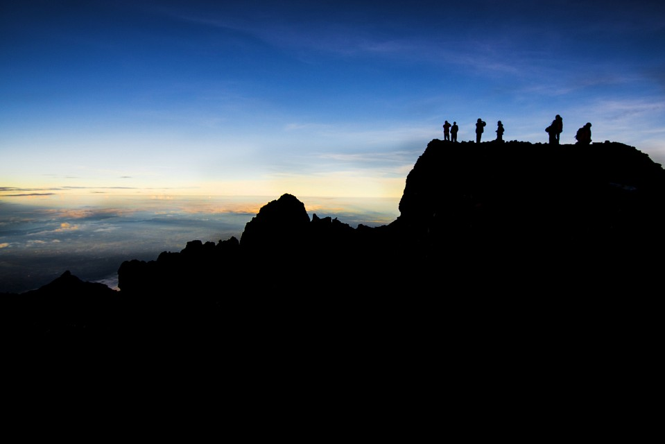 On The Top - Gunung Rinjani
