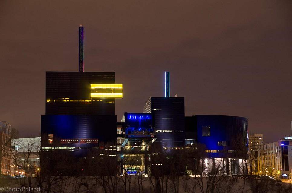 Guthrie theater at night, Minneapolis, MN - Guthrie Theater