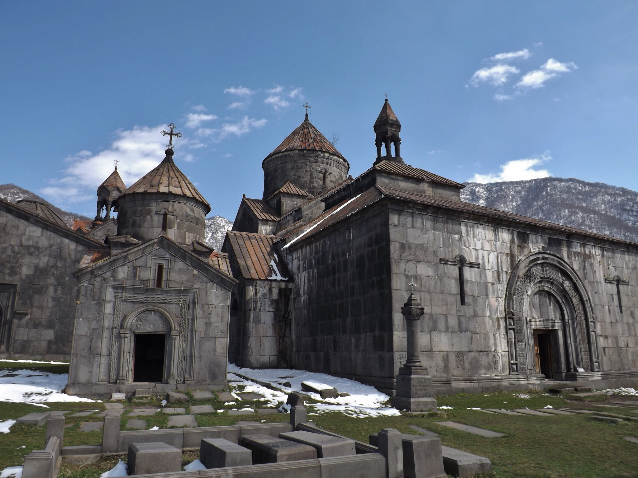 Another monastery, but a pretty one. - Haghpat Monastery