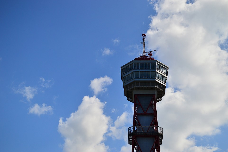 博多ポートタワーHakata port tower - Hakata Port Tower