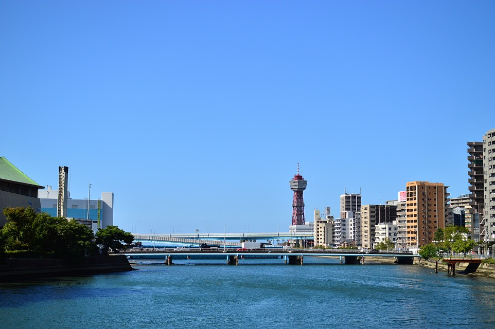 博多ポートタワー Hakata port tower - Hakata Port Tower