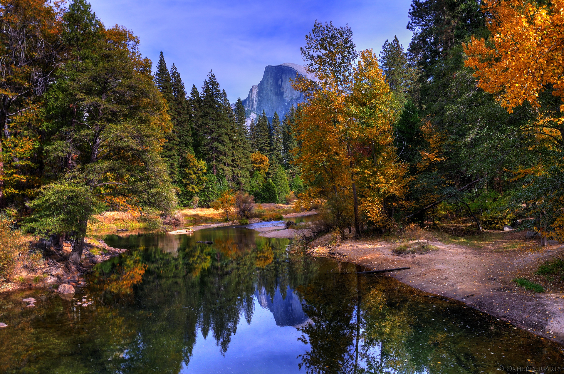 Half Dome Mountain In Yosemite National Park Thousand