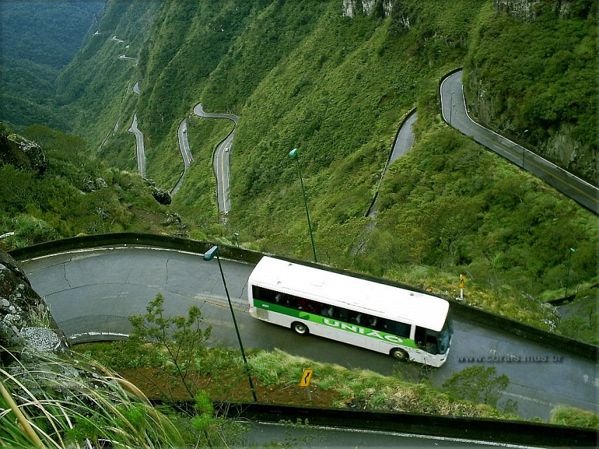 Halsema Highway. Road in Philippines, Asia