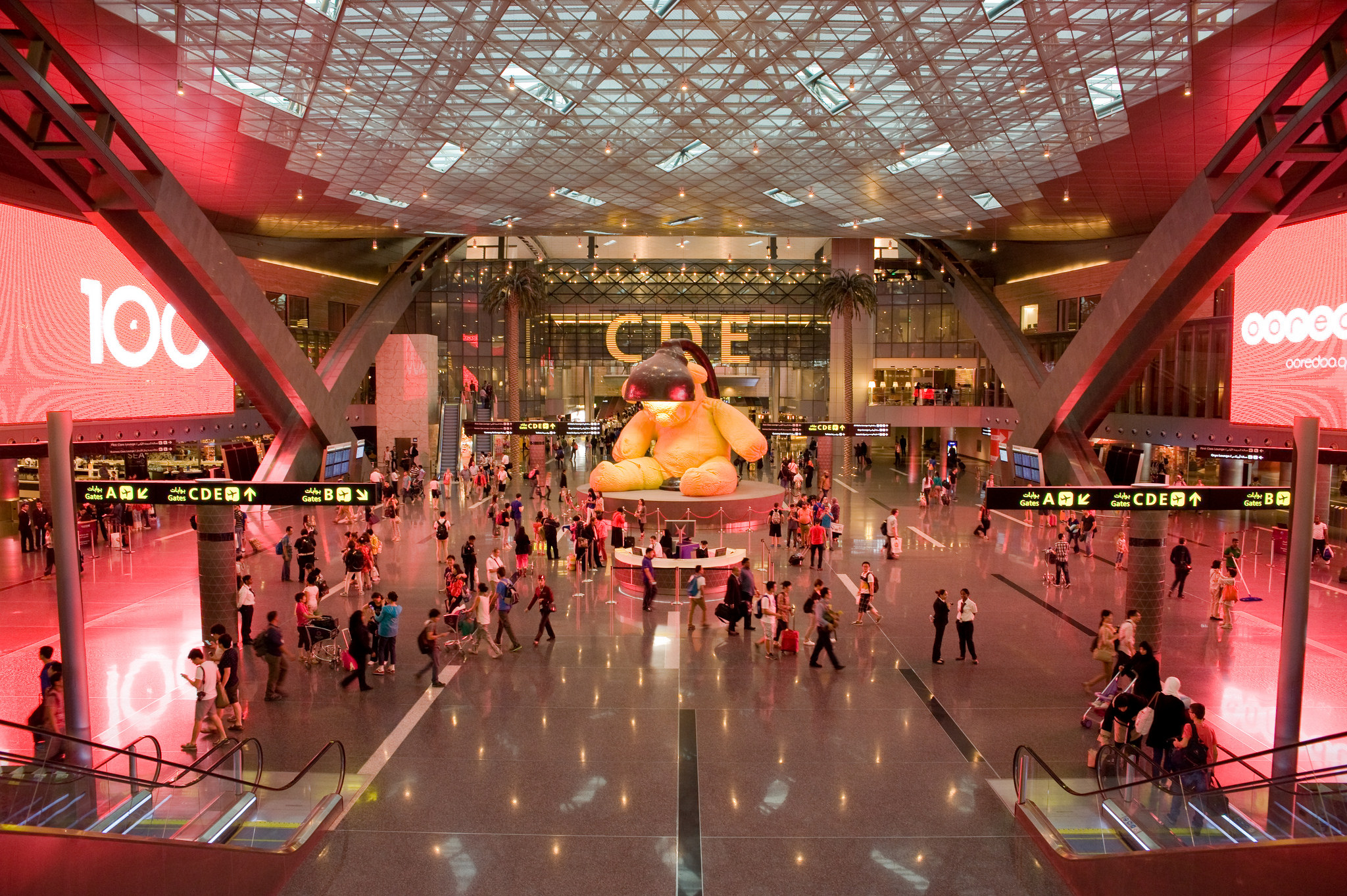 Hamad International Airport Airport In Doha Thousand