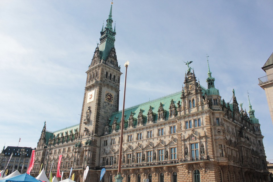 Town Hall - Hamburg Town