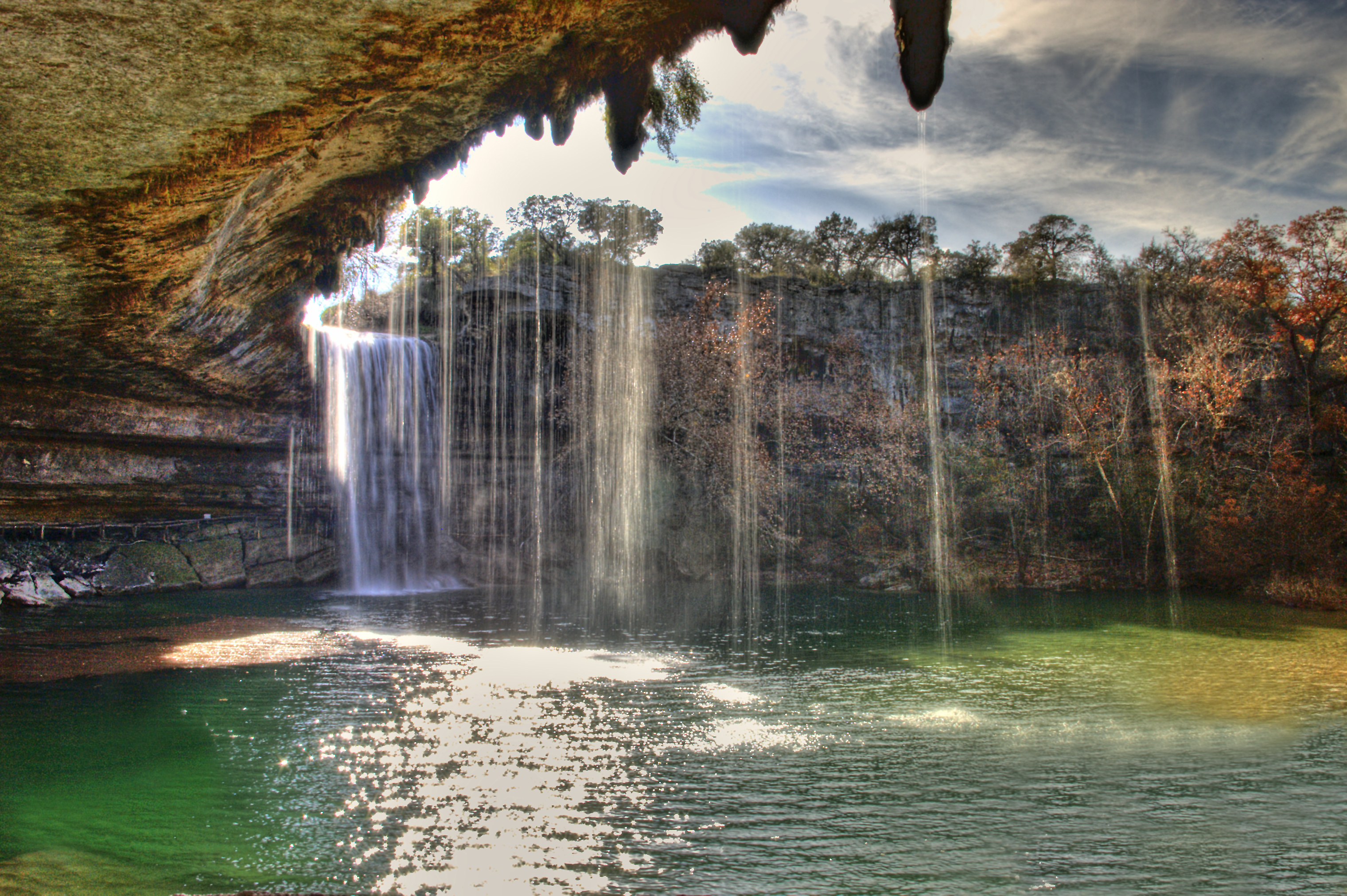 Hamilton Pool Preserve Waterfall In Texas Thousand Wonders