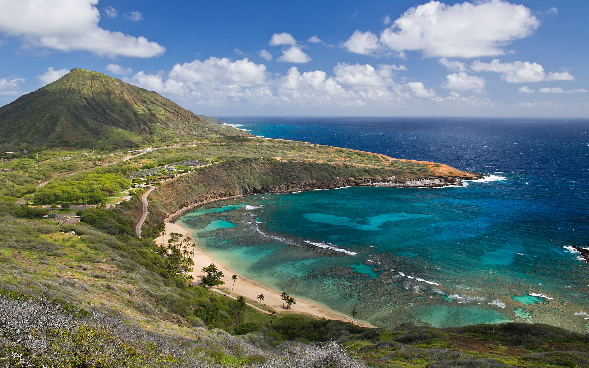 Hanauma Bay Beach In Oahu Thousand Wonders