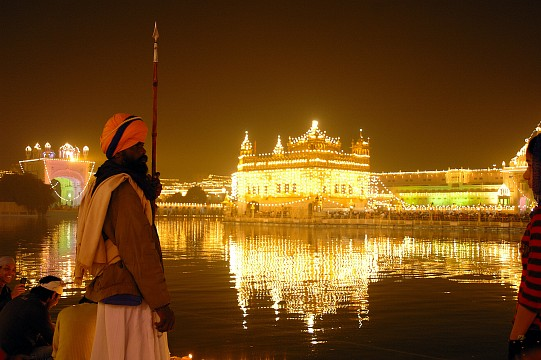 At Night With Lights - Harmandir
