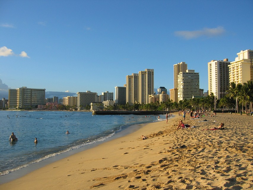 Kapiolani Beach - Hawaii