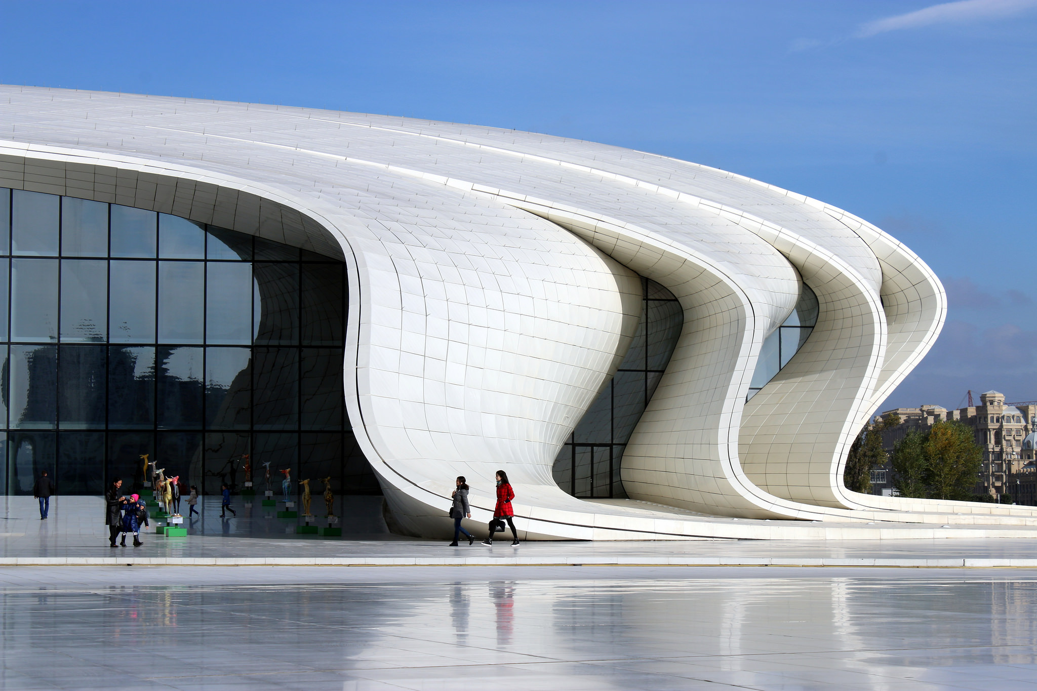 Heydar Aliyev Center Public Building in Baku Thousand