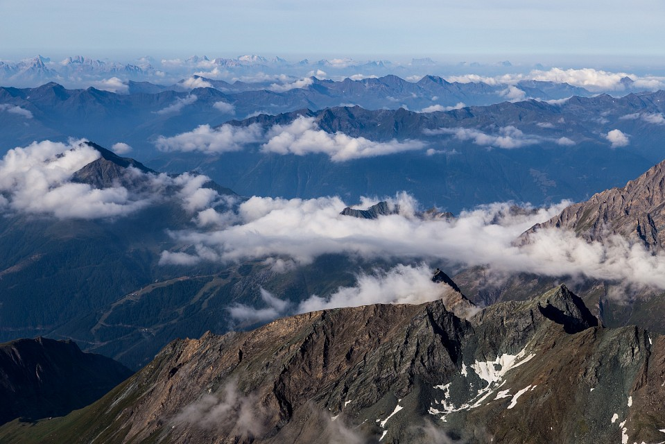 The view from the top - High Tauern