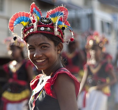 The procession smile -