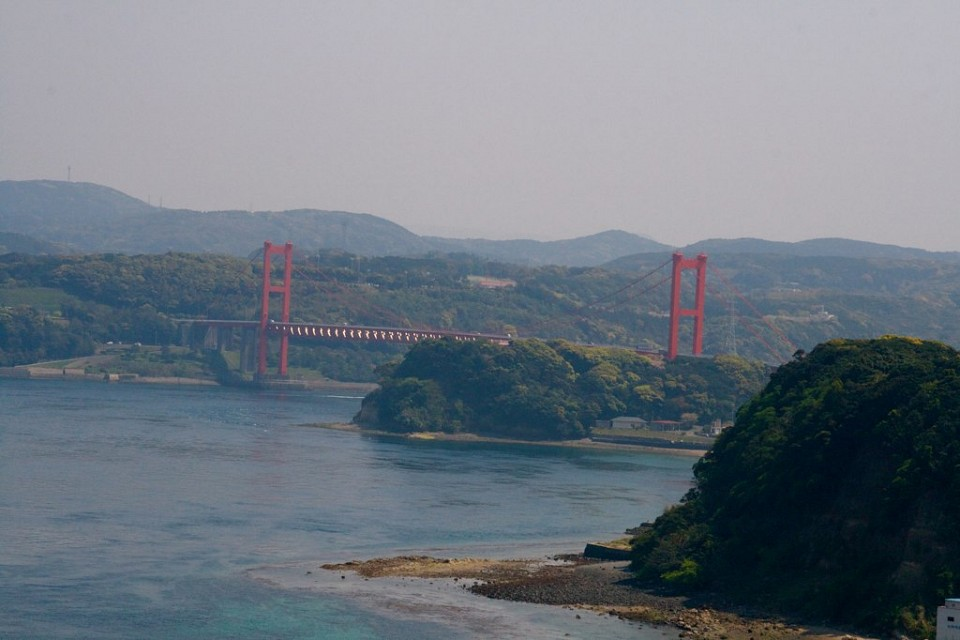 bridge to hirado island - Hirado Bridge