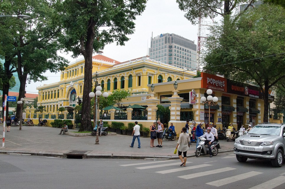 Buu Dien - Post office - Ho Chi Minh City