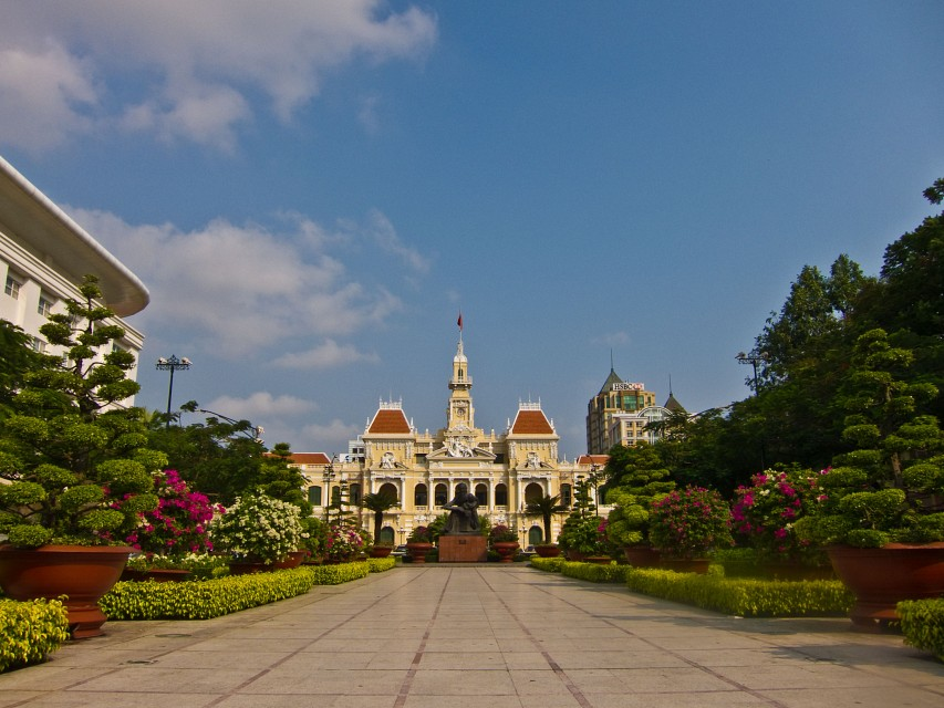 Ho Ch Minh City Hall - Ho Chi Minh City Hall
