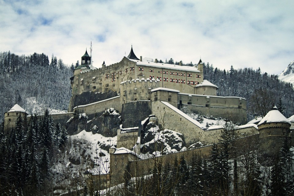 Where Eagles Dare - Hohenwerfen Castle