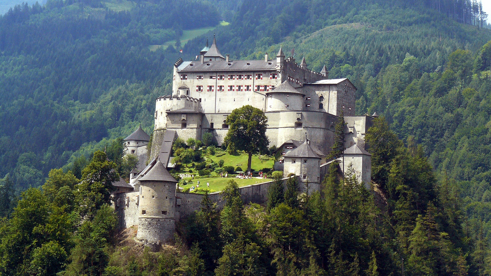 Image result for hohenwerfen castle