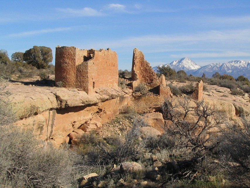 Hovenweep Castle, Little Ruin Canyon, Hovenweep National Monument, Utah - Hovenweep National Monument