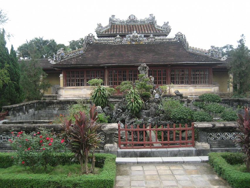 Hué, Citadel, Imperial Enclosure, Emperor's Reading Room - Huế