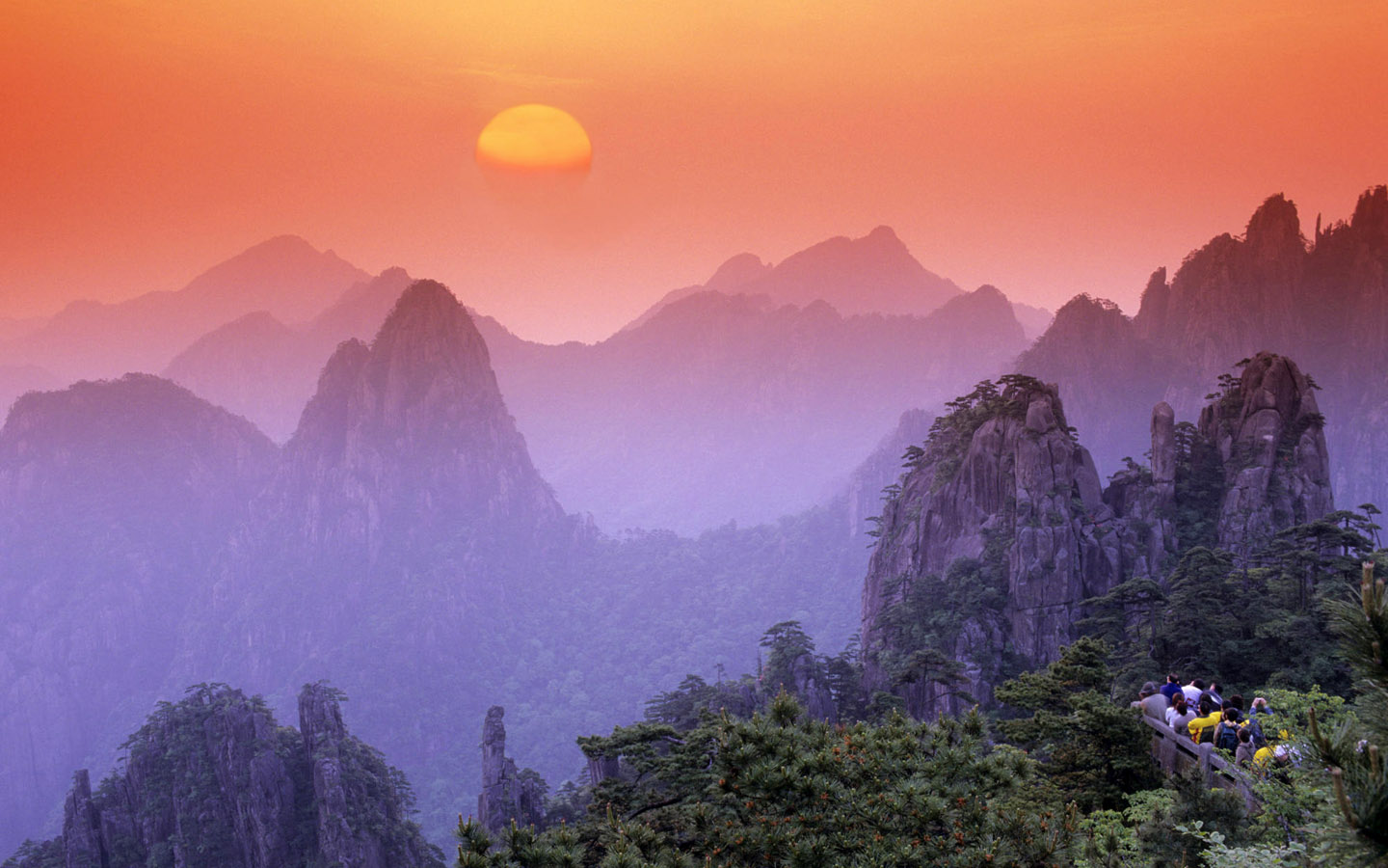 Huangshan - Mountain Range in Anhui - Thousand Wonders