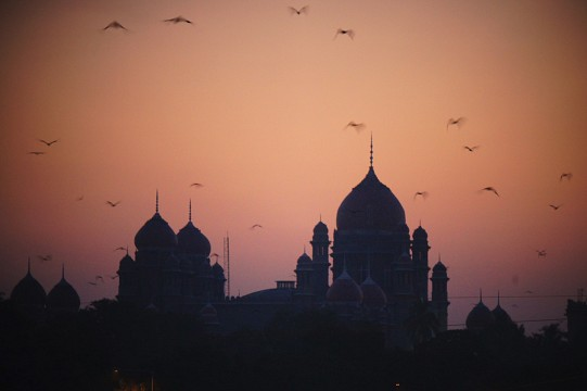 High Court at Dusk -