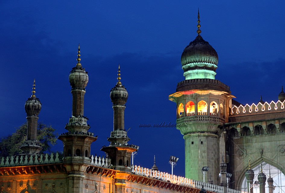 Mecca Masjid, Hyderabad,
