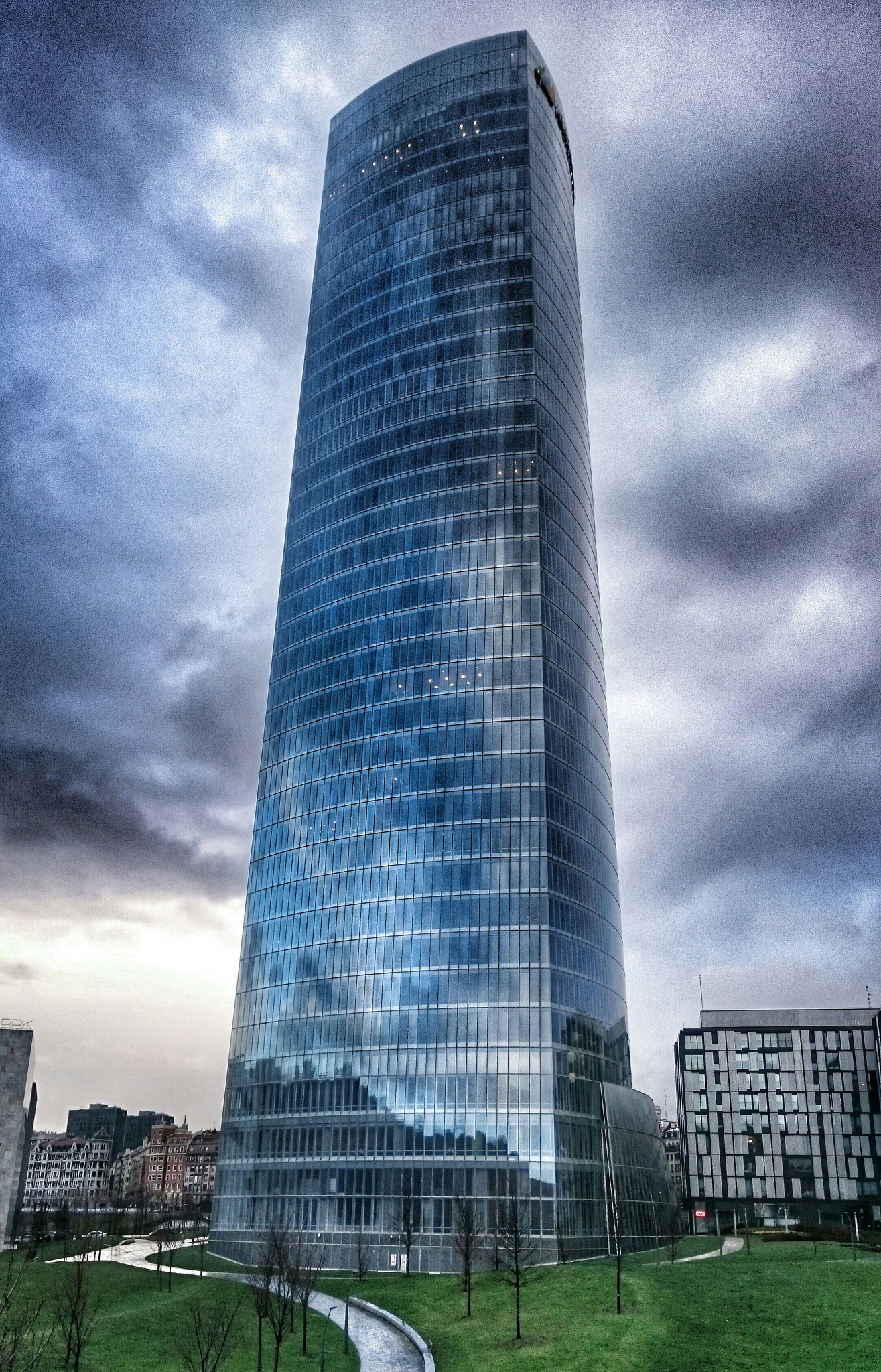 Iberdrola Tower Skyscraper In Bilbao Thousand Wonders