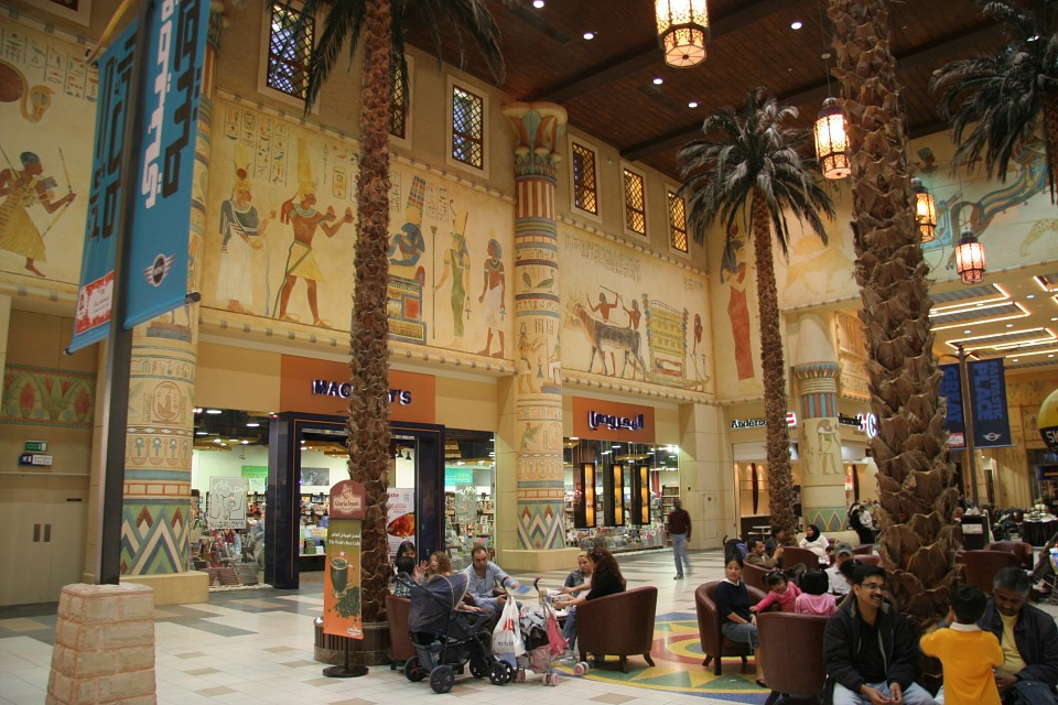 Egypt  Court, Ibn Battuta Mall - Ibn Battuta Mall