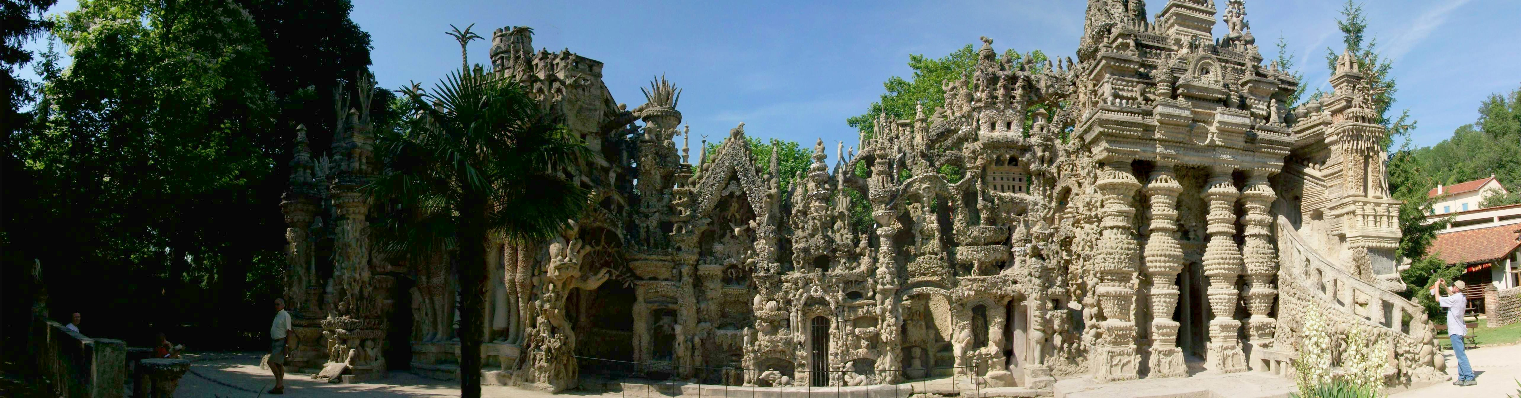 ideal palace Ferdinand cheval: the postman who handbuilt his ideal palace are you or your  children destined to be great what defines greatness in.