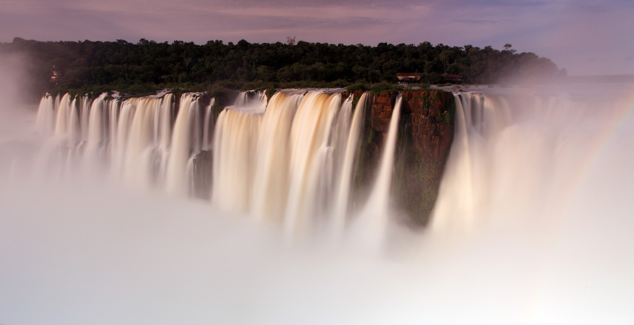 floating island - Iguaçu National Park
